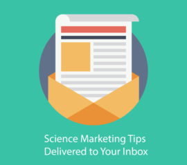 science marketing newsletter