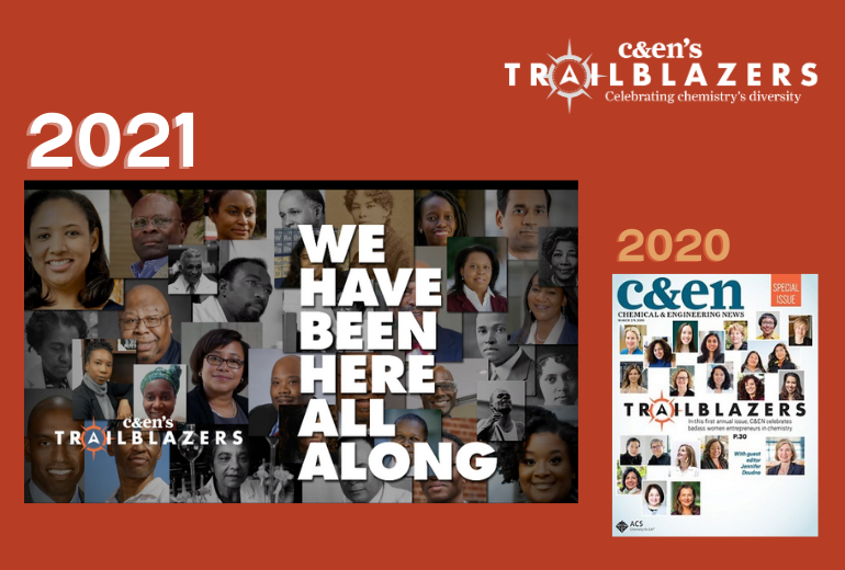 C&EN's Trailblazers 2021 issue